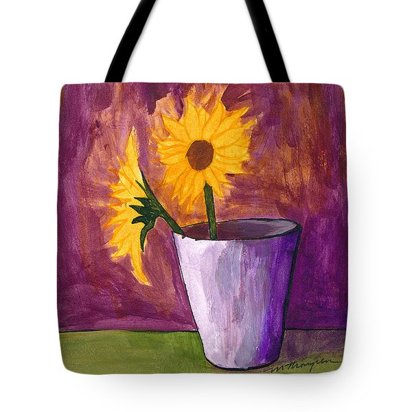 Vase 2 Tote Bag