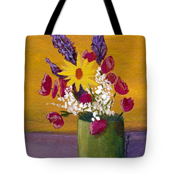 Vase 3 Tote Bag