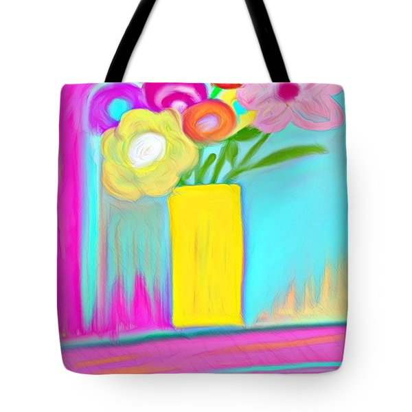 Vase Of Life Tote Bag