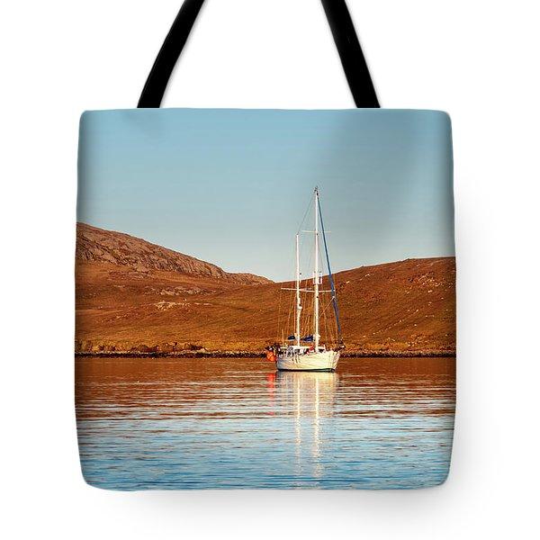 Vatersay Bay Tote Bag