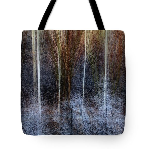 Veins Of Forest Tote Bag