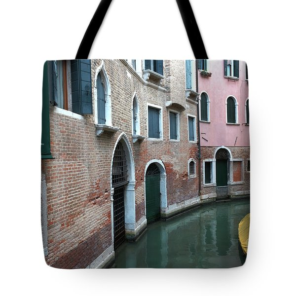 Venetian Streets -canals. Carlo Galdoni Museum Tote Bag