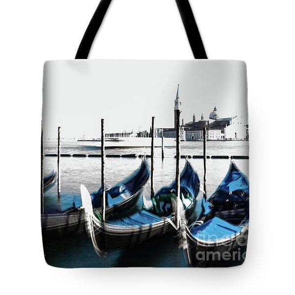 Venezia High-key, Italy Tote Bag
