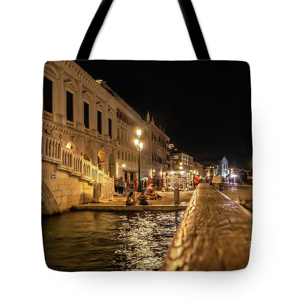 Venice At Night. San Marco Tote Bag