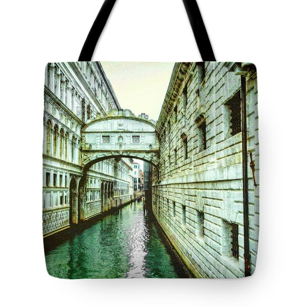 Venice Bridge Of Sighs Tote Bag