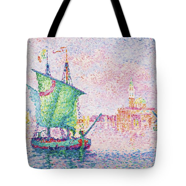 Venice, The Pink Cloud - Digital Remastered Edition Tote Bag