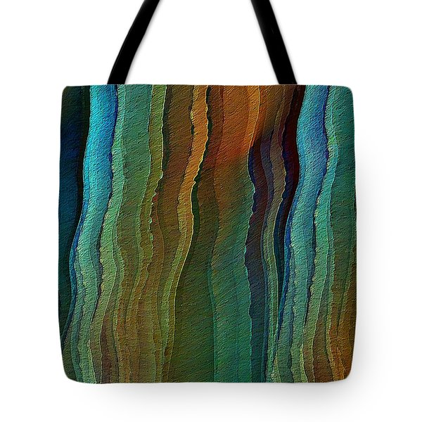 Tote Bag featuring the digital art Vents Under The Sea by David Manlove