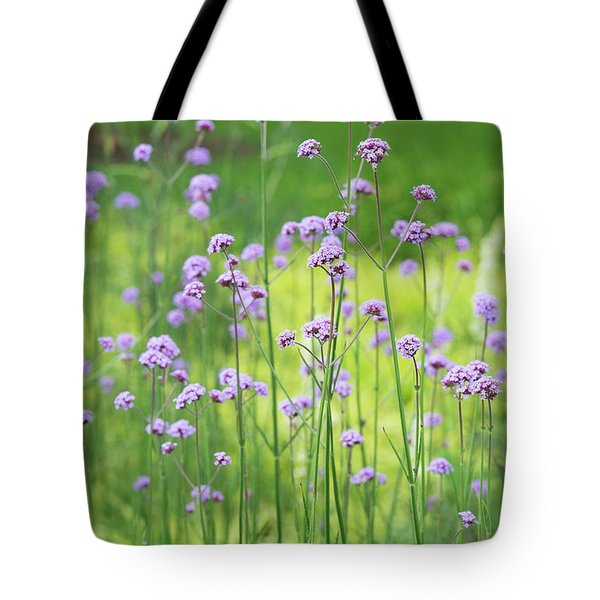 Tote Bag featuring the photograph Verbena by Tim Gainey