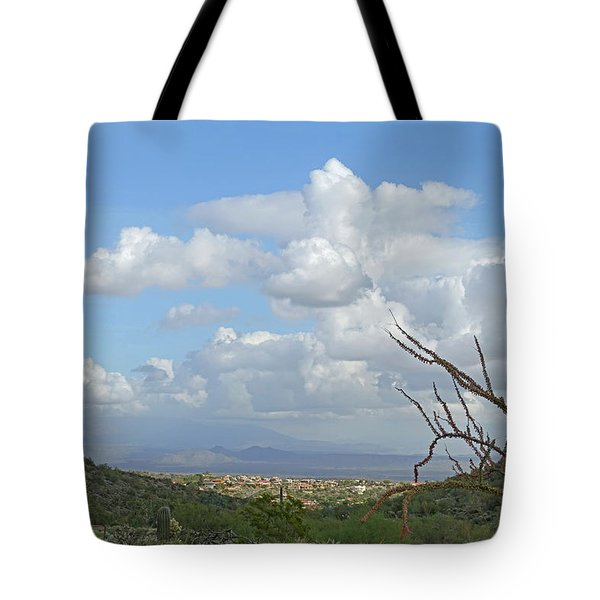 Tote Bag featuring the photograph Verdant Valley 3 by Lynda Lehmann
