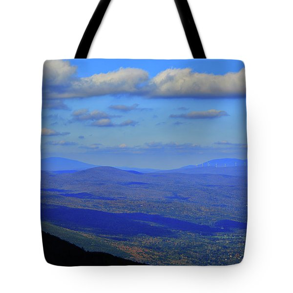 Tote Bag featuring the photograph Vermont From The Summit Of Mount Greylock 3 by Raymond Salani III