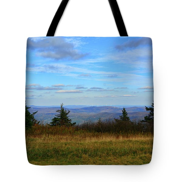 Tote Bag featuring the photograph Vermont From The Summit Of Mount Greylock by Raymond Salani III