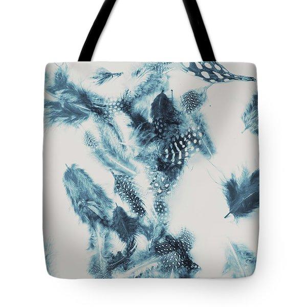 Vertigo Blue Tote Bag