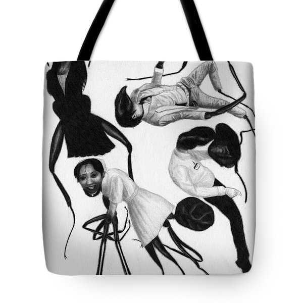 Victims Of Karoshi - Artwork Tote Bag