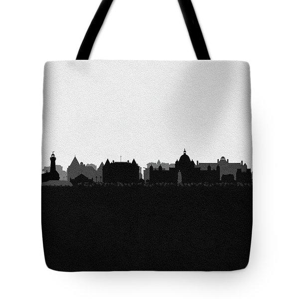 Victoria Cityscape Art Tote Bag