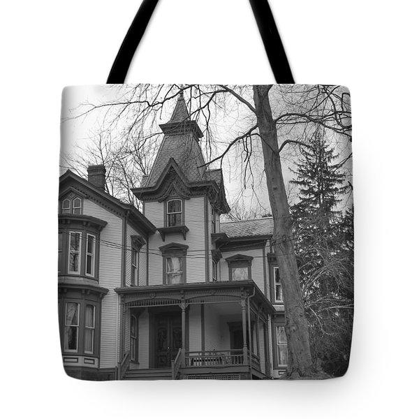 Victorian Mansion - Waterloo Village Tote Bag