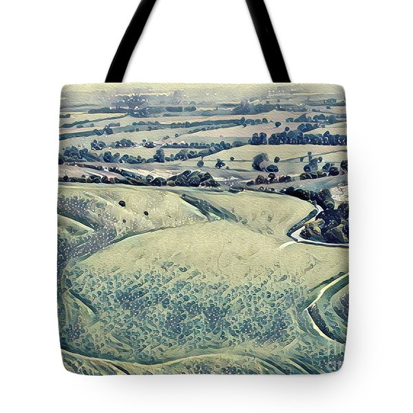 View From An Escarpment Tote Bag