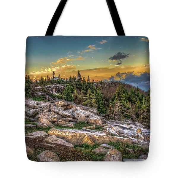 View From Dolly Sods 4714 Tote Bag