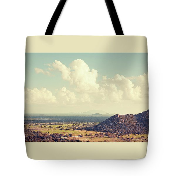 View From Mihintale Tote Bag