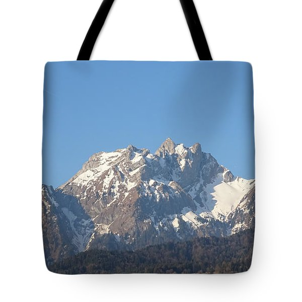 View From My Art Studio - Pilatus I - April 2019 Tote Bag