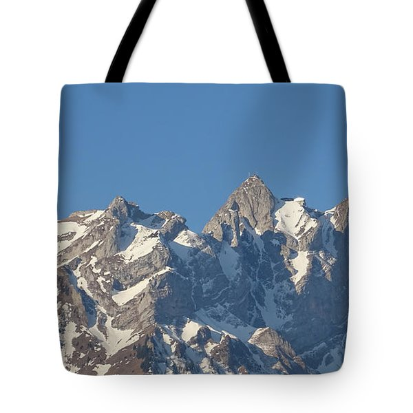 View From My Art Studio - Pilatus II - April 2019 Tote Bag