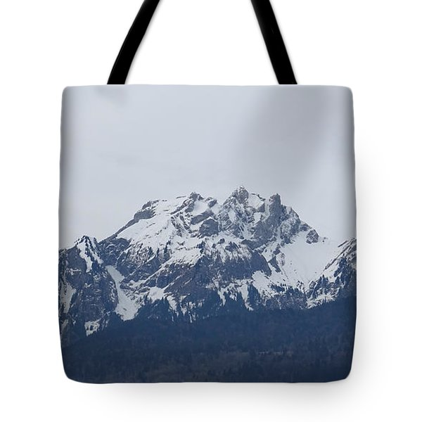View From My Art Studio - Pilatus - March 2018 Tote Bag
