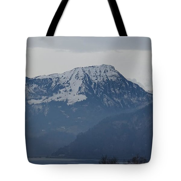 View From My Art Studio - Stanserhorn - March 2018 Tote Bag