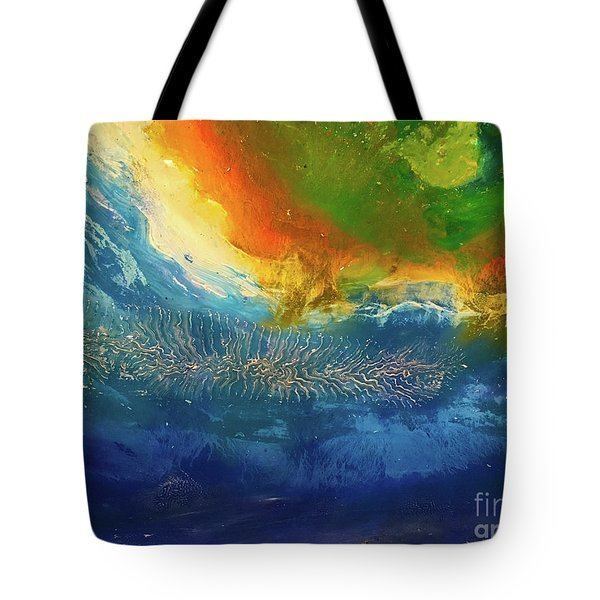 View From Space Tote Bag