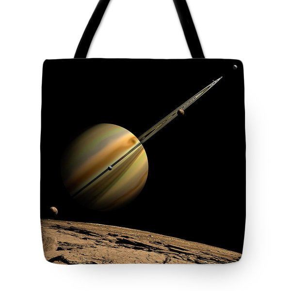 View From The 6th Moon Tote Bag