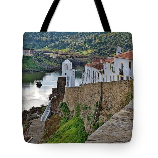 View From The Medieval Castle Tote Bag