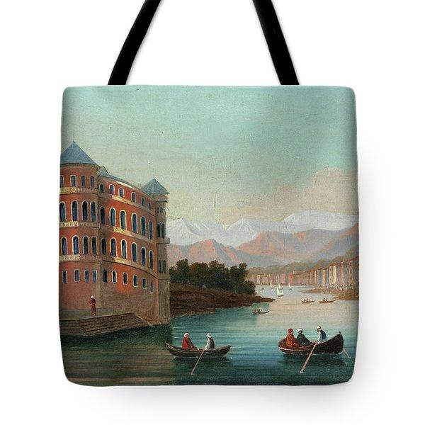 View Of Istanbul - 3 Tote Bag