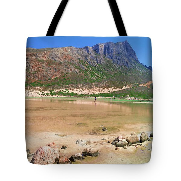 View To Gramvousa Tote Bag