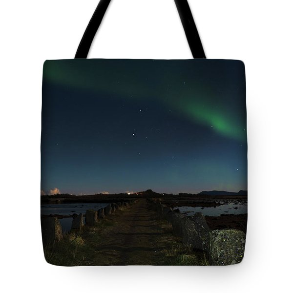 Viking Path Tote Bag