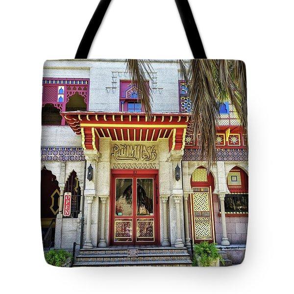 Villa Zorayda Tote Bag