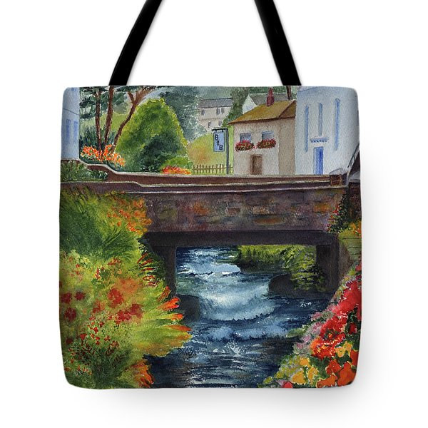 The Village Bridge Tote Bag
