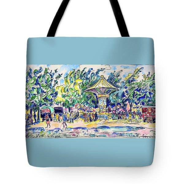 Village Festival, The Vogue - Digital Remastered Edition Tote Bag