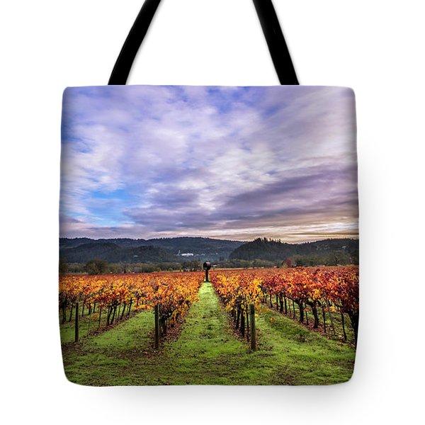 Vineyard Beauty Tote Bag