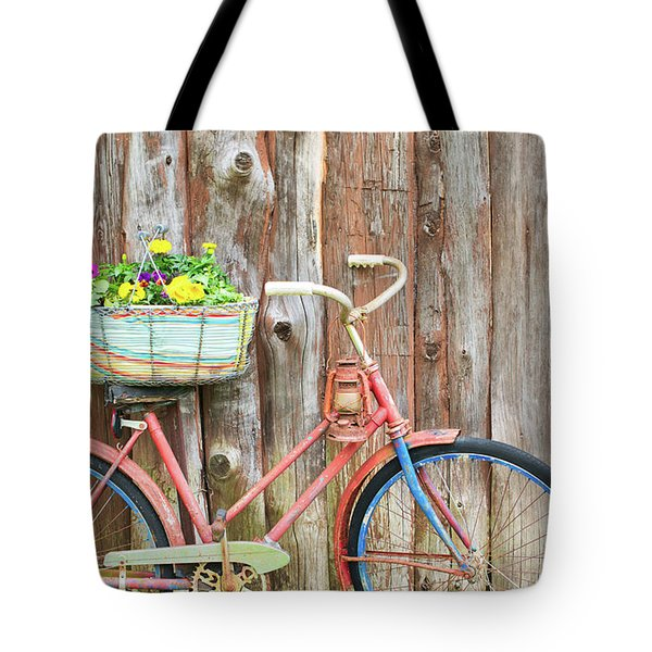 Vintage Bicycles Tote Bag