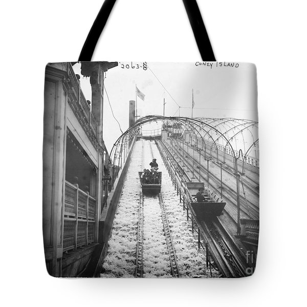 Vintage Coney Island New York  Tote Bag