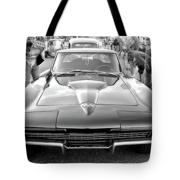 Vintage Corvette Tote Bag