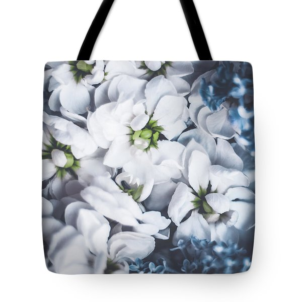 Tote Bag featuring the photograph Vintage Flowers II by Anne Leven