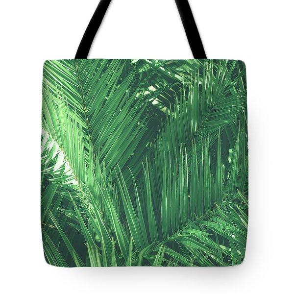 Vintage Palms I Tote Bag