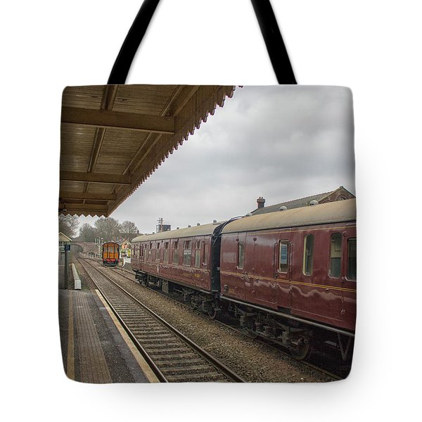 Vintage Railways Tote Bag