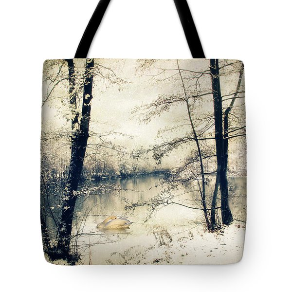 Vintage Winter  Tote Bag