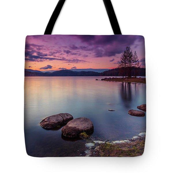 Violet Dusk Tote Bag