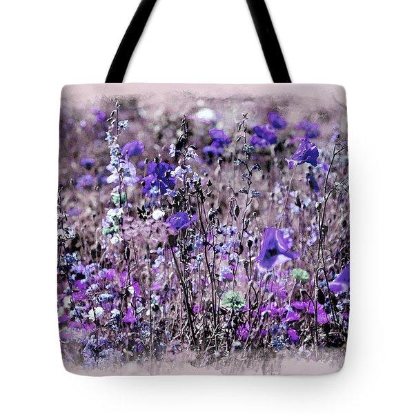 Violet Mood Tote Bag