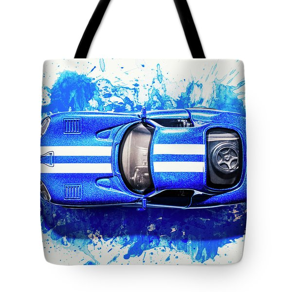 Viper Trails Tote Bag