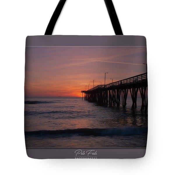 Virginia Beach Sunrise Tote Bag