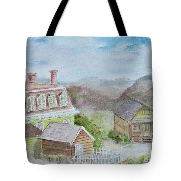 Virginia City Nevada Tote Bag
