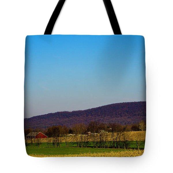 Virginia Mountain Landscape Tote Bag
