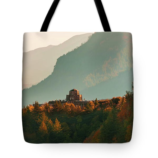 Vista House Tote Bag